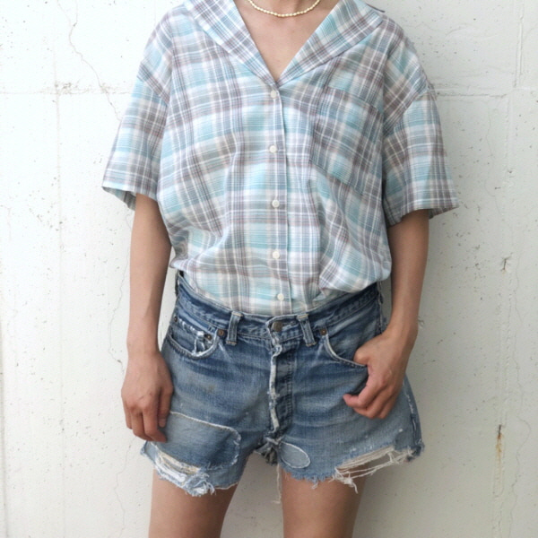 Cotten Check Shirt