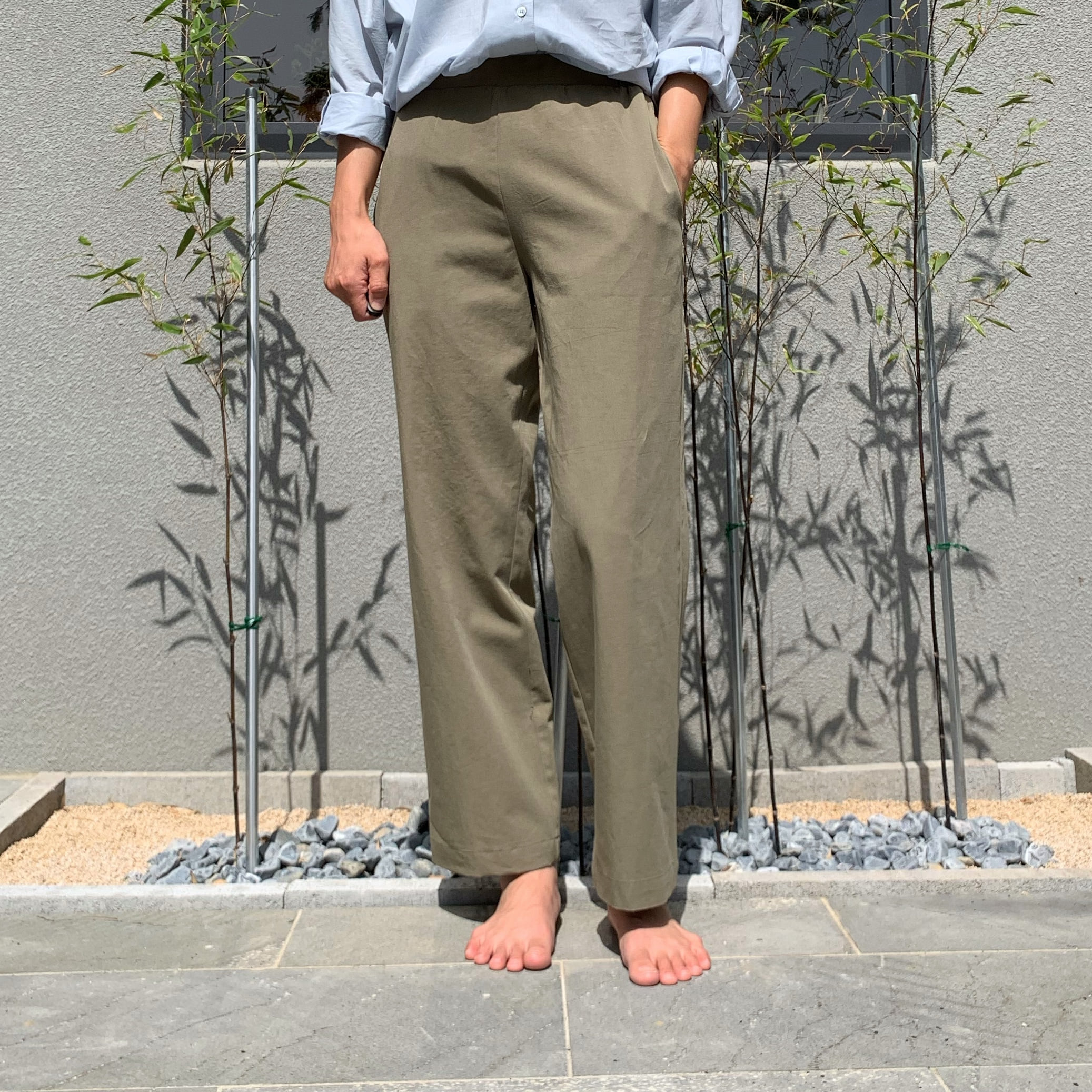 Cotton Band pants